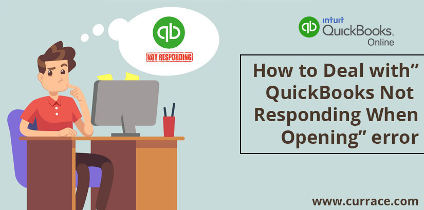 quickbooks not responding when opening