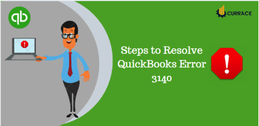Steps to Resolve QuickBooks Error 3140