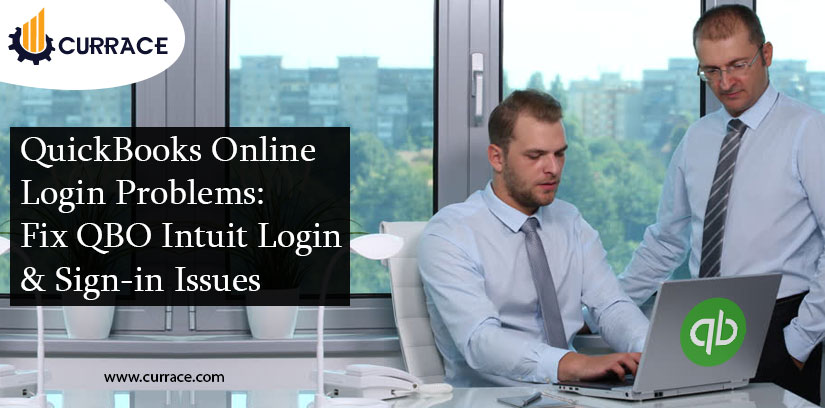 QuickBooks Online Login Problems: Fix QBO Intuit Login & Sign-in Issues