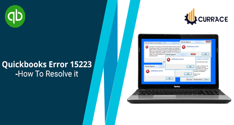 QuickBooks Error 15223 - How To Resolve It?
