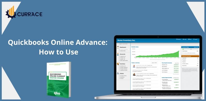 Quickbooks Online Advance: How To Use