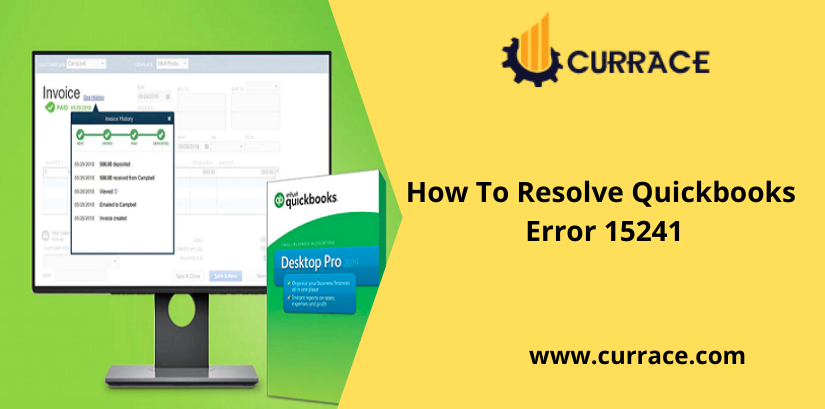 How To Resolve Quickbooks Error 15241