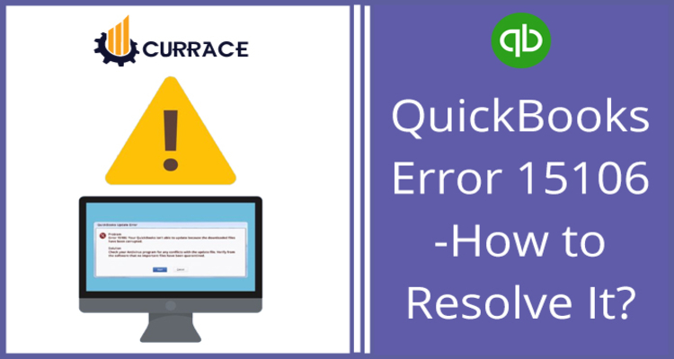 QuickBooks Error 15106 - How To Resolve It?
