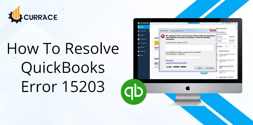 How To Resolve Quickbooks Error 15203