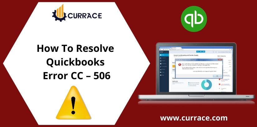 How To Resolve Quickbooks Error CC - 506