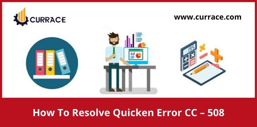How To Resolve Quicken Error CC - 508