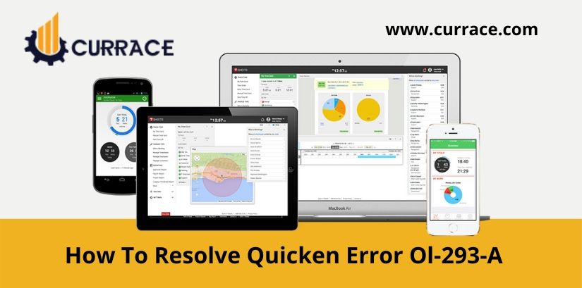 How To Resolve Quicken Error Ol-293-A