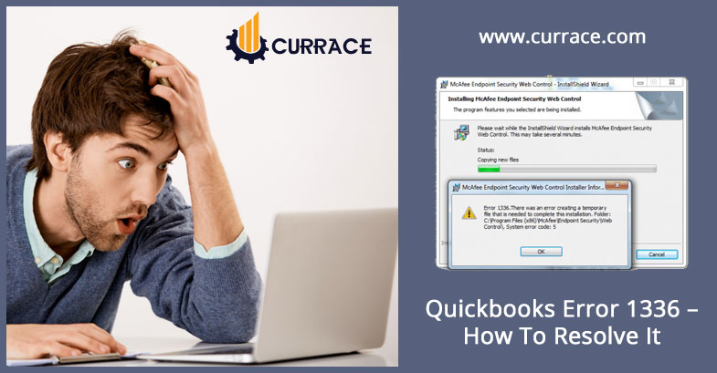 Quickbooks Error 1336 - How To Resolve It