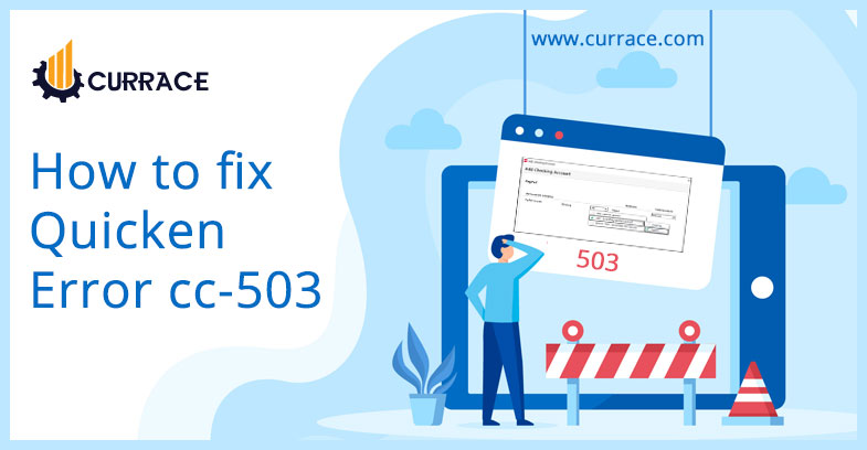 How to fix Quicken Error cc-503