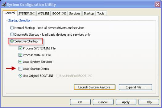 configuration utility