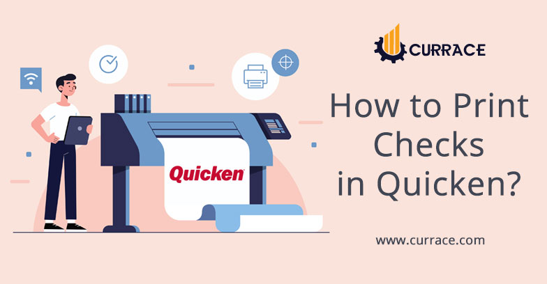 How to Print Checks in Quicken?