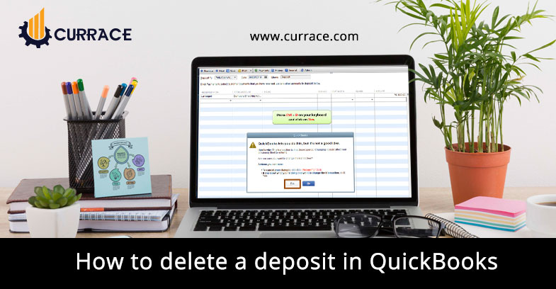 How to delete a deposit in QuickBooks