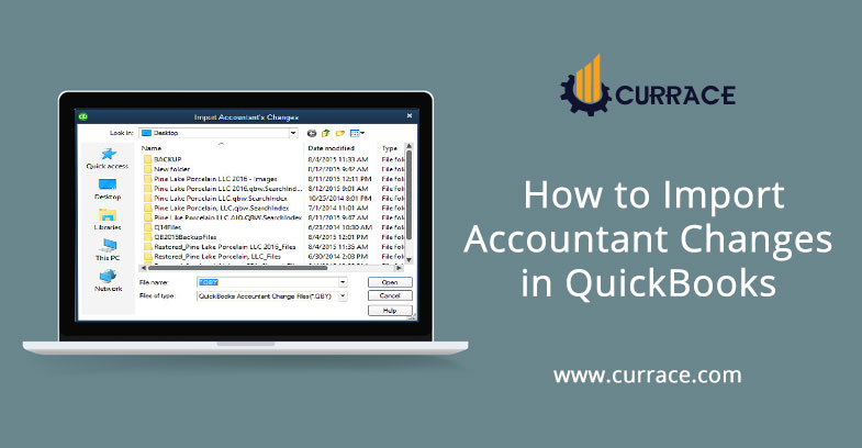 How to Import Accountant Changes in QuickBooks