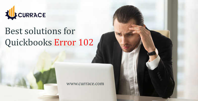 Best solutions for Quickbooks Error 102