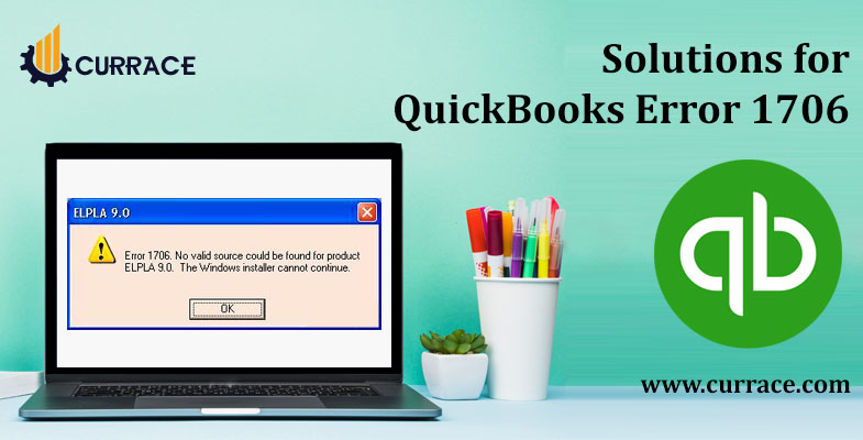 Solutions for QuickBooks Error 1706