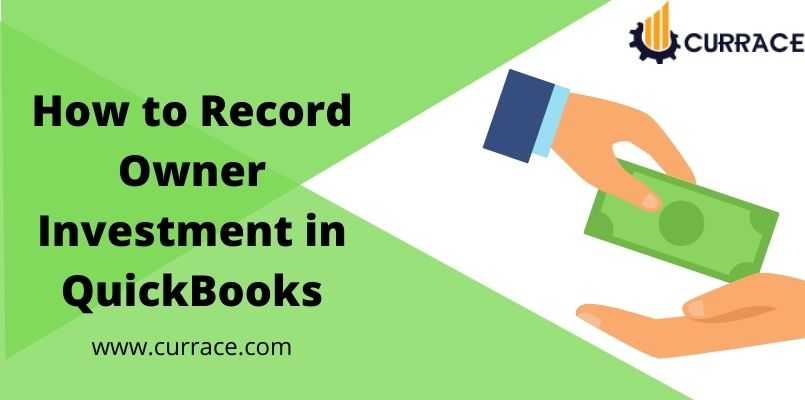 How to Record Owner Investment in QuickBooks